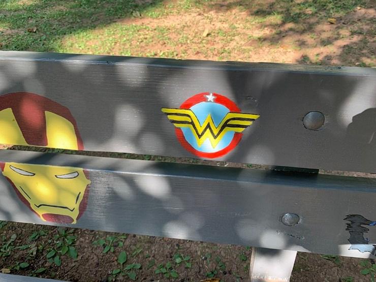 Iron man, Wonder Woman