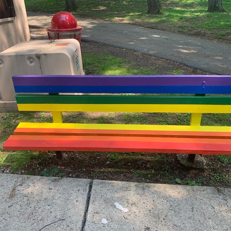 A bench that accepts all people