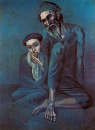 """Old blind man with boy"" 1903, Pushkin Museum of Art, Moscow"
