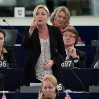 Marine Le Pen a l'immunité