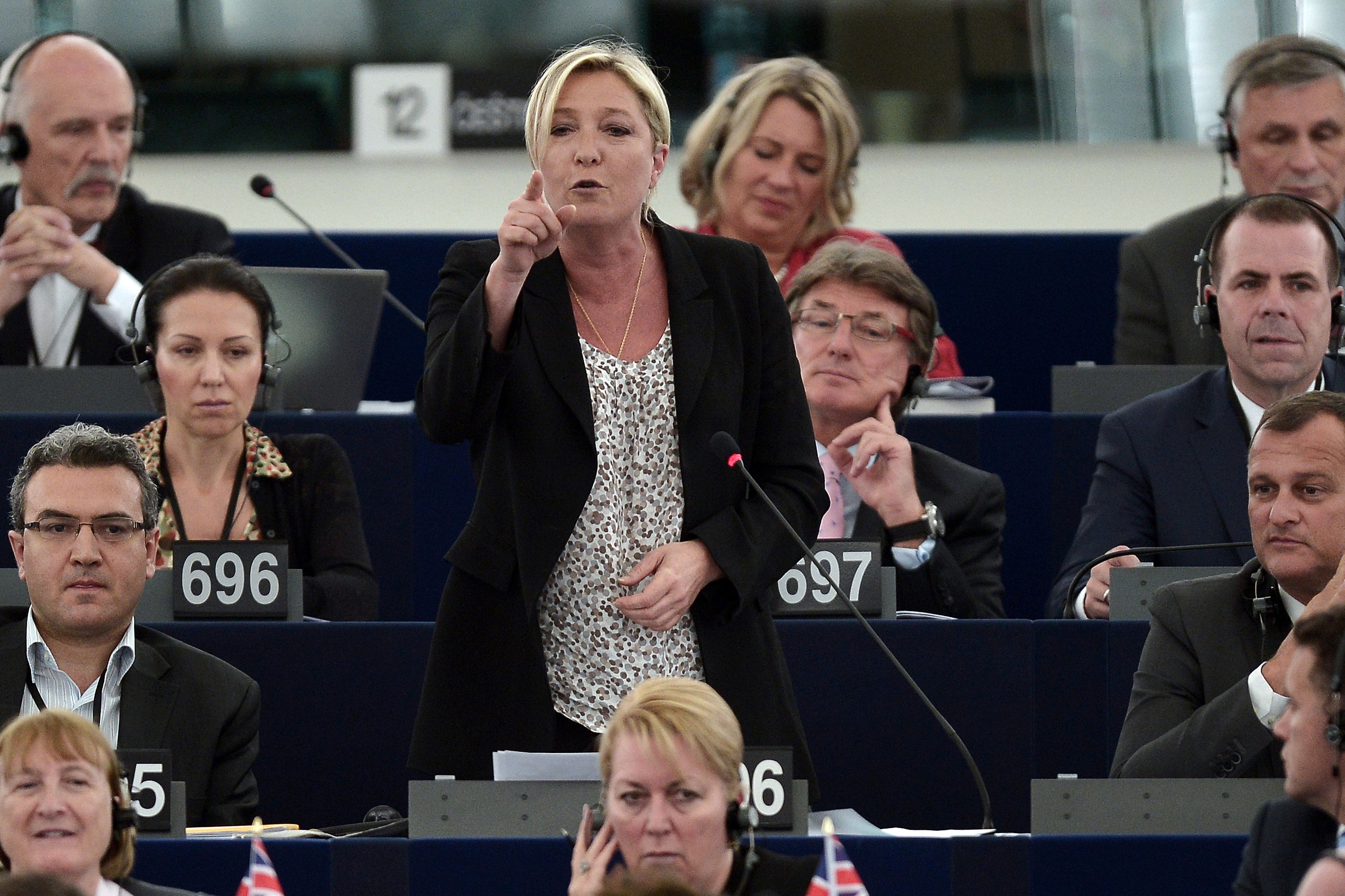 Marine Le Pen a l'immunté