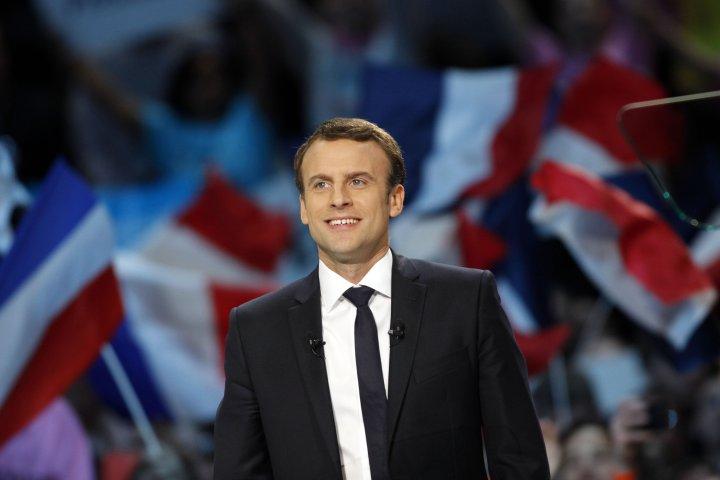 Macron: je veux être un président qui protège