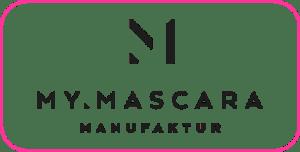 Logo MyMascara mit Rahmen