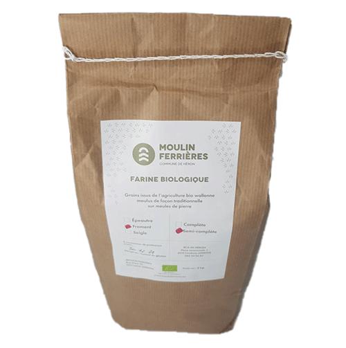farine froment semi complete biologique moulin ferrieres brut et bon epicerie