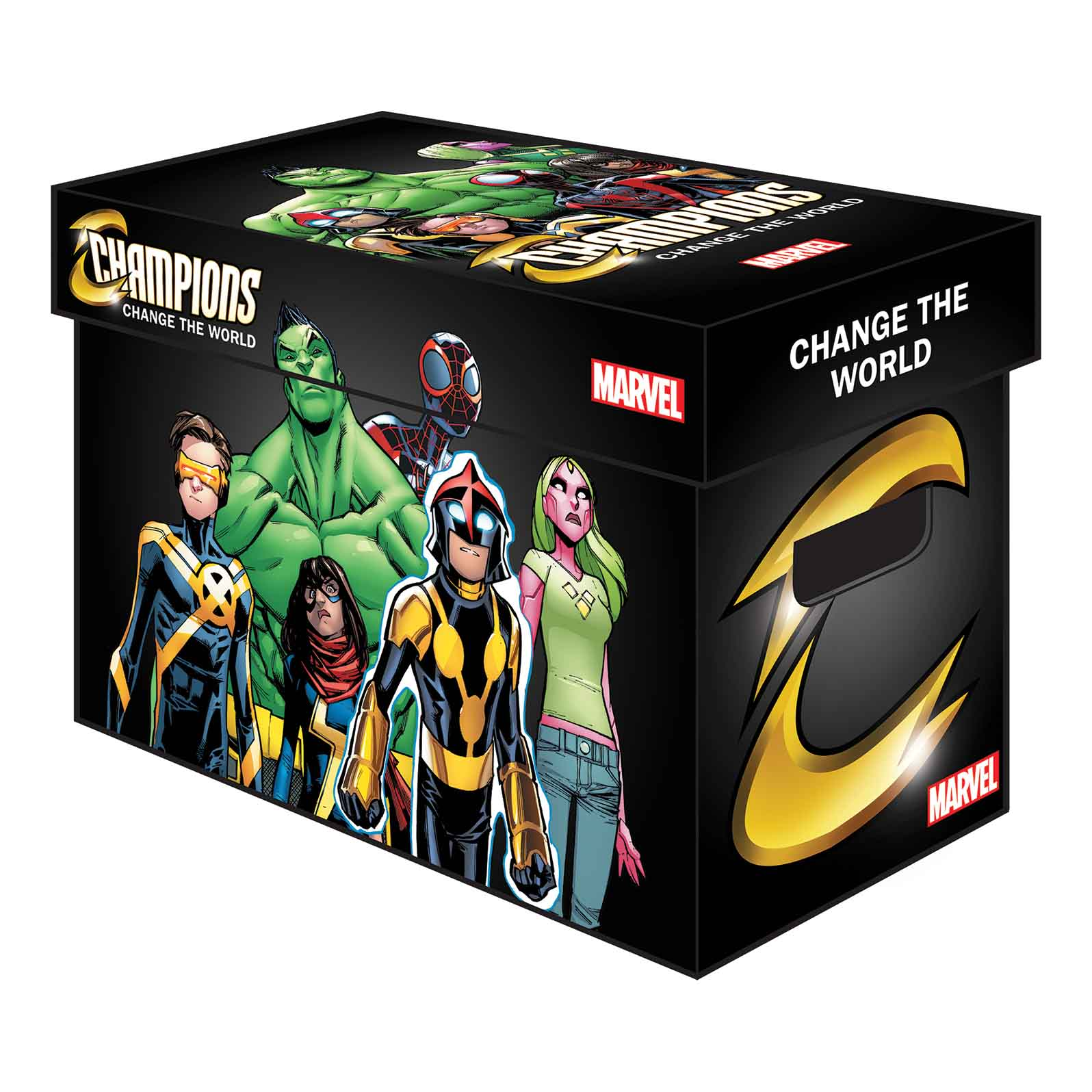 Marvel Prints Up Some Cool New Comic Boxes