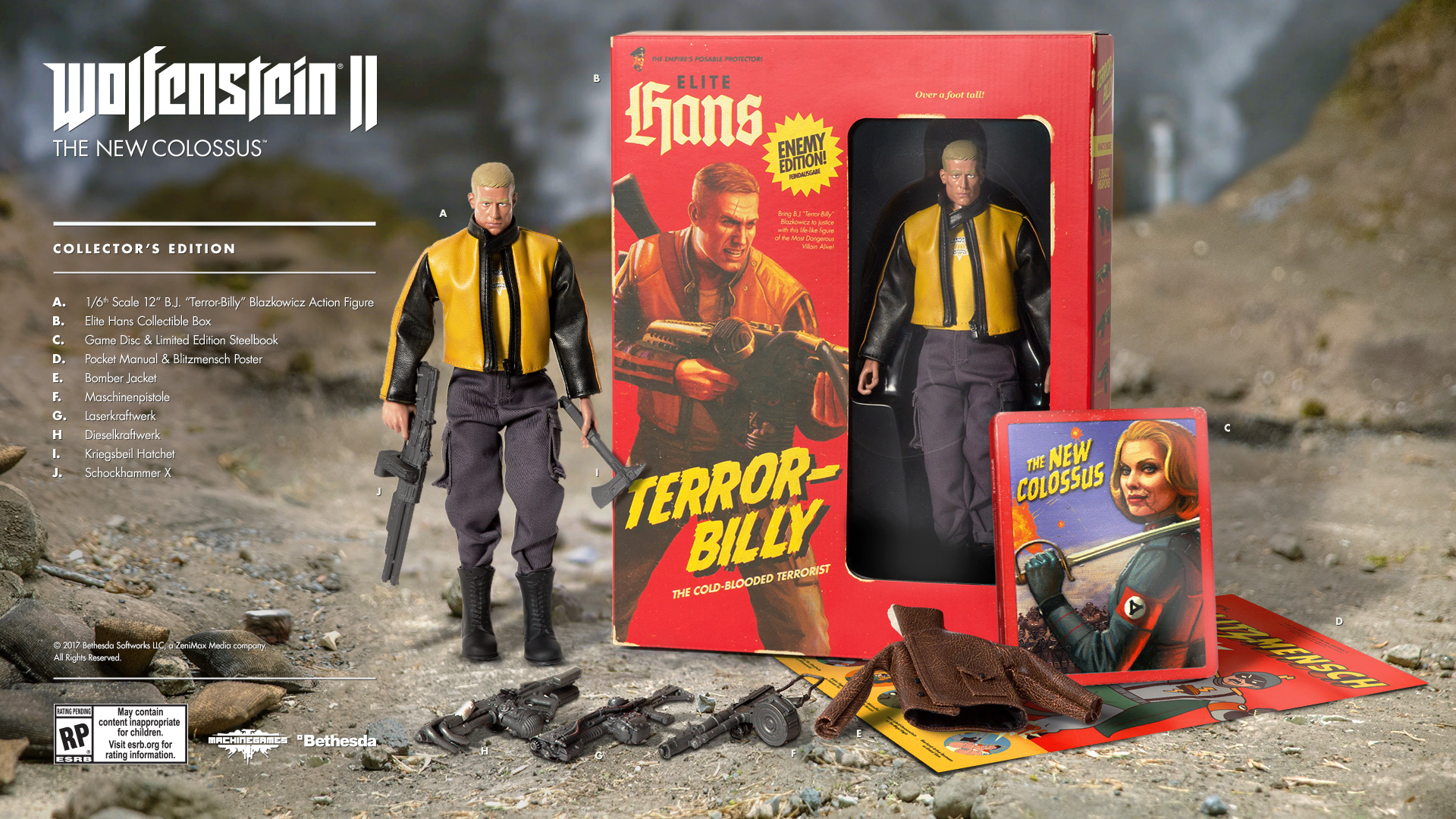 Terror Billy To Get Packed In With Exclusive Wolfenstein