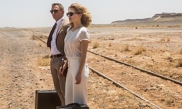 Daniel Craig and Léa Seydoux in 007 adventure-Spectre