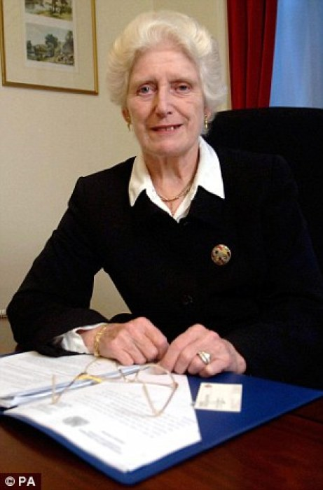 Former Judge Baroness Butler-Sloss headed the commission