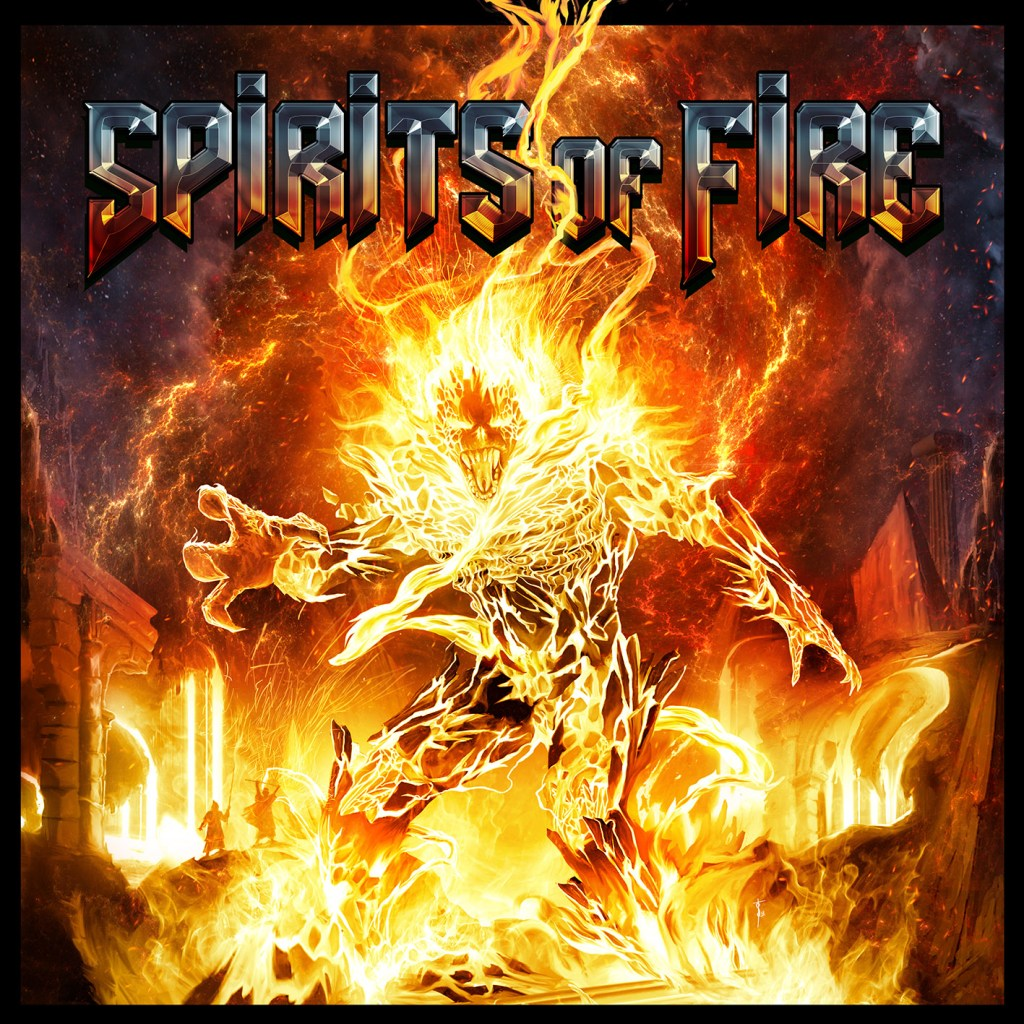 Spirits Of Fire - Cover Art