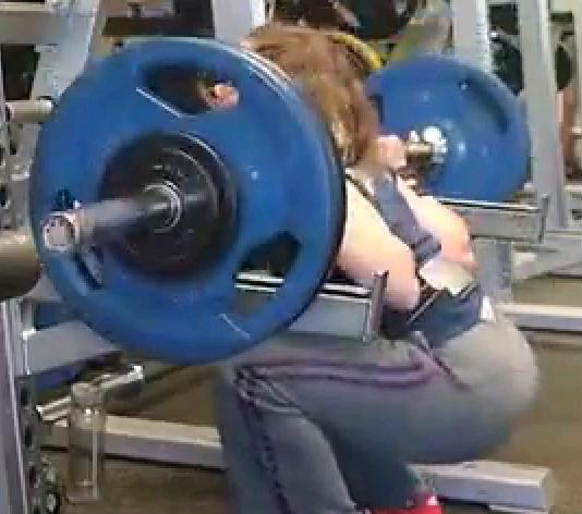 Squats, Corrupted by BodyPump Brute Force Strength