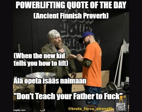 Ancient Finnish Fuck Proverb