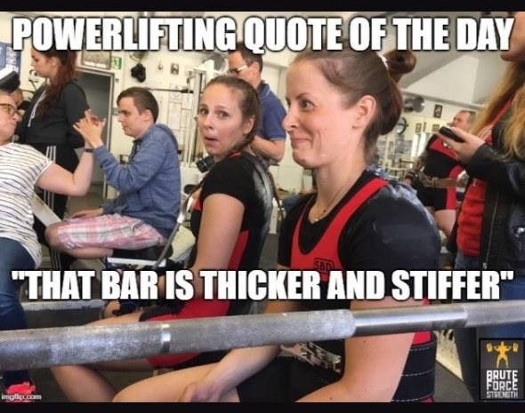 Bar - Thicker and Stiffer