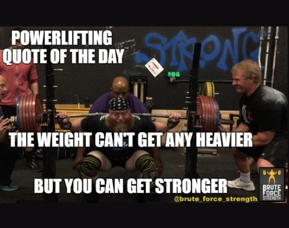 Can't Get Heavier