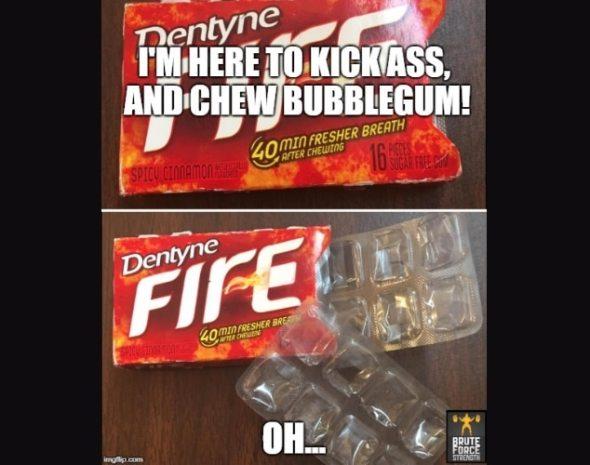 Chew Bubblegum v2
