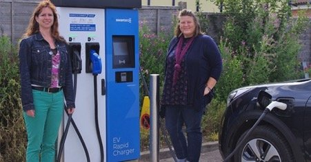 Where should our electric vehicle charging points go?