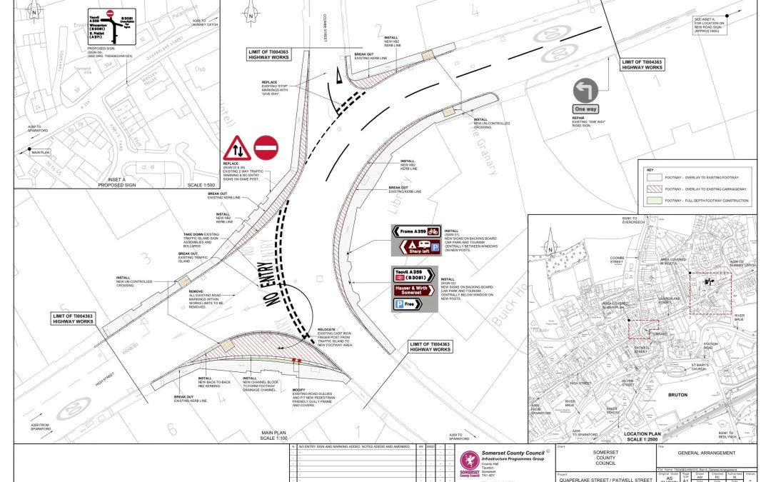 County Council publishes its plan for the Library Junction