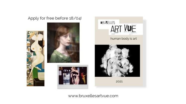 Bruxelles Art Vue Human Body is Art poster