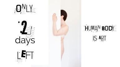 Human Body is Art Bruxelles Art Vue open call for artists