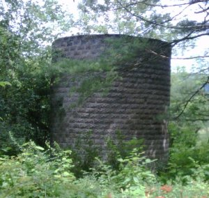 A silo.