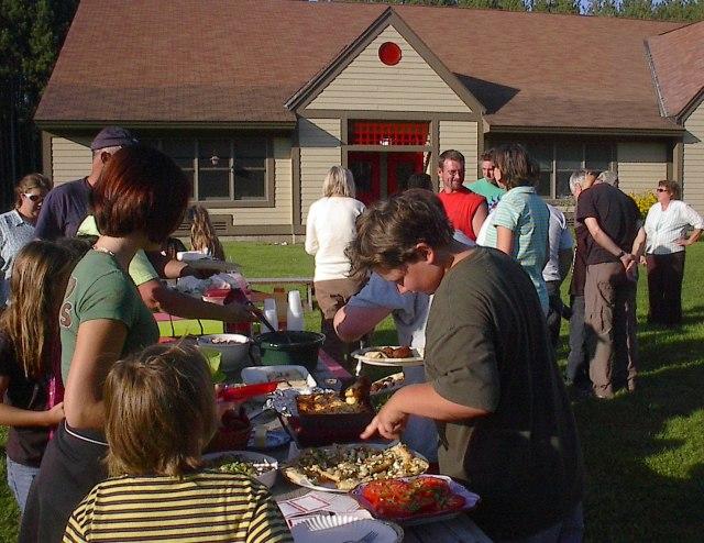 Ripton school picnic 2009