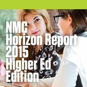 NMC Horizon Report 2015 cover
