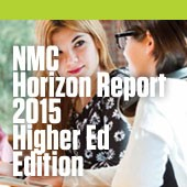NMC Horizon Report 2015 cover