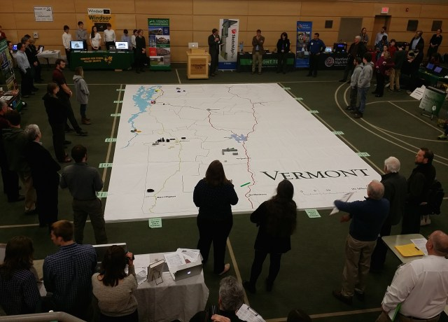 one big map of Vermont
