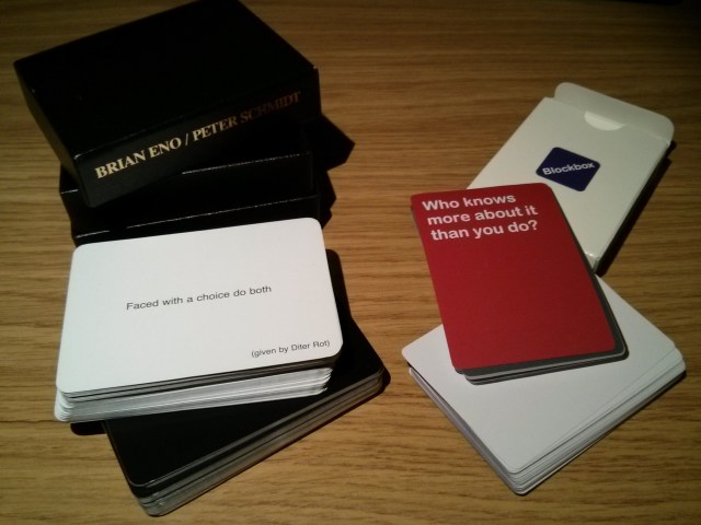 Oblique Strategies_Duncan Stephen