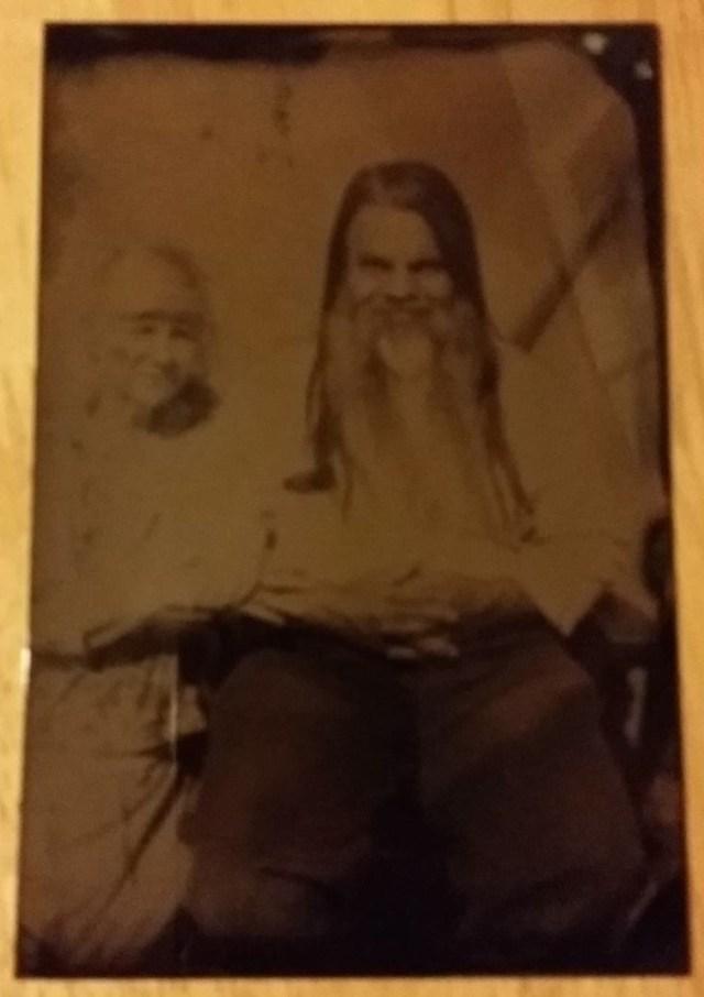 Bryan Ceredwyn in tintype