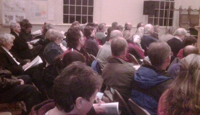 Ripton town meeting, 2010