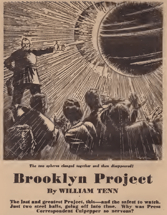 "William Tenn, ""Brooklyn Project"" first page"