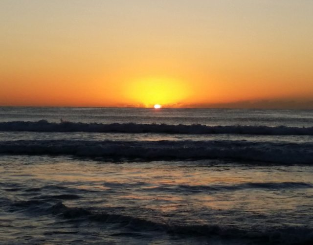 Dawn on Australia's Gold Coast