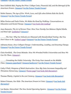 bookstore screenshot list of titles