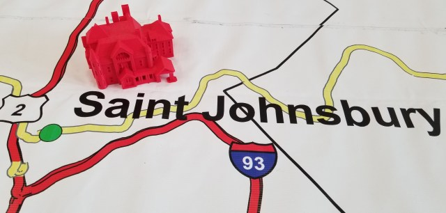 3d Vermont 2018 map: Saint Johnsbury