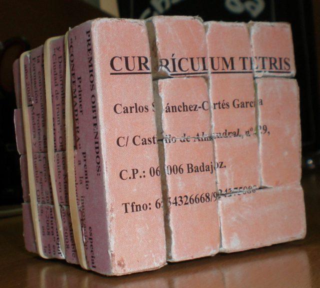 currículo tetris