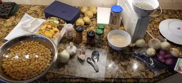 vegan meals in prep