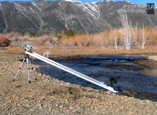 Time Lapse Dolly over stream