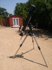 Solar observation setup