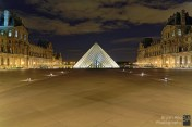 Le Louvre, Paris - 16 x 24 inches
