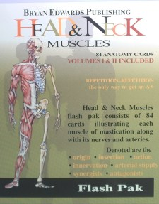 Head & Neck flash cards - bryanedwards.com