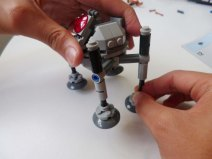 Lego Star Wars Microfighters Homing Spider Droid step 9