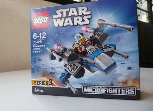 Lego Star Wars X wing 1