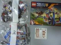 Lego Nexo Knight Merlok's Library 2