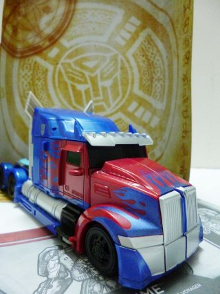 Transformers 5 Hasbro Optimus Prime 5