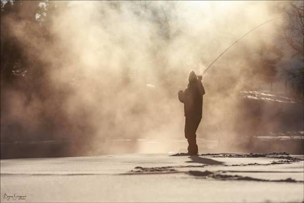 Trayer Winter Montana flyfishing 1