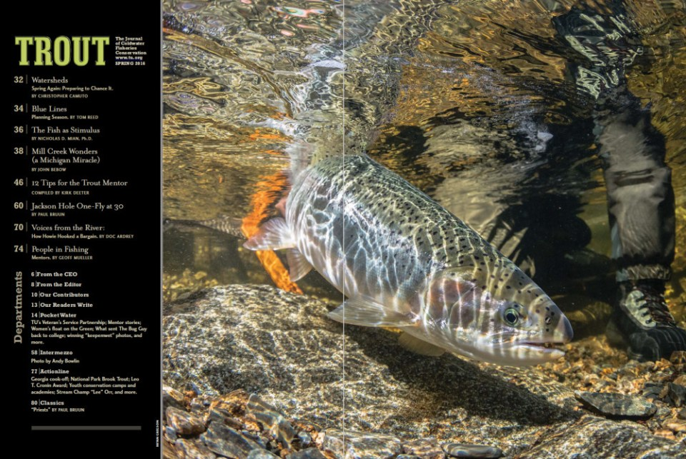 Trout Magazine_TOC Spring 2016
