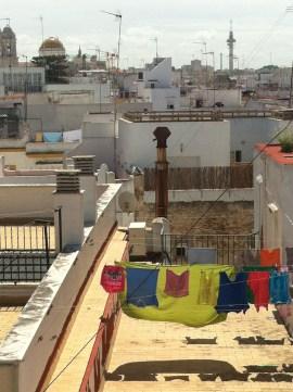 Cádiz washing line