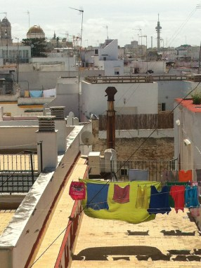 Cádiz washing line