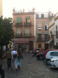 Plaza San Marcos - La Nómada is on the right